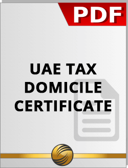 Download UAE Tax Domicile Certificate PDF